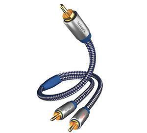 Inakustik Premium Y Sub 2m mélyláda / subwoofer kábel