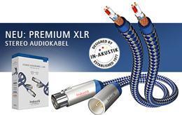 Inakustik Premium Sztereó XLR kábel 0.75m 0