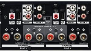 Denon HEOS DRIVE hálózati audio lejátszó és erősítő csatlakozás