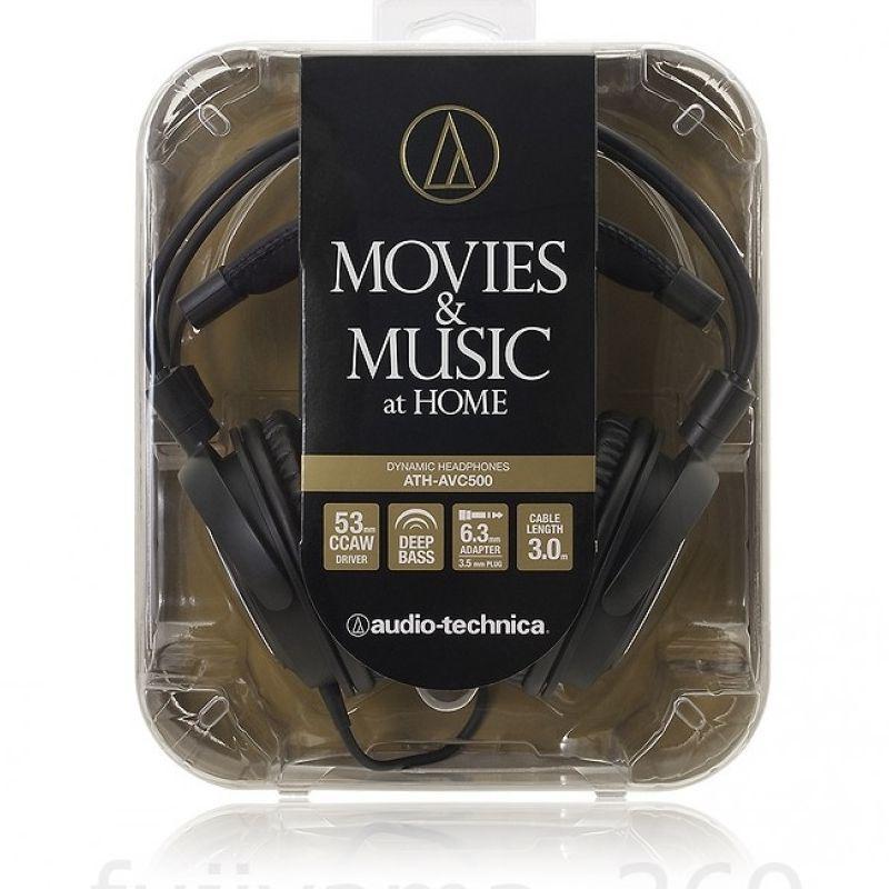 Audio Technica ATH-AVC500 zárt fejhallgató_