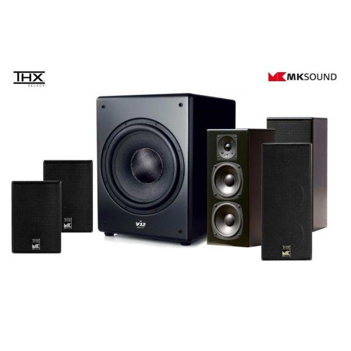 M&K Sound 950 házimozi hangfalszett teszt