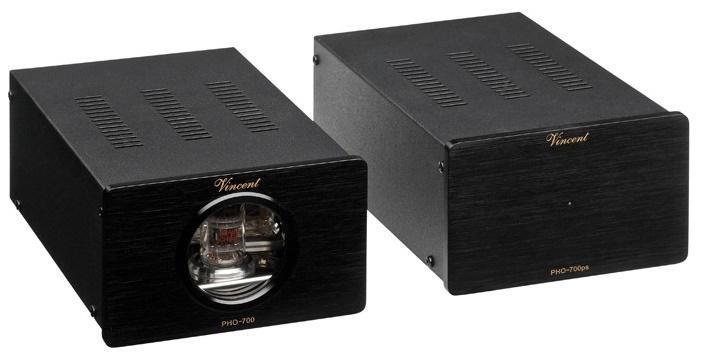 Vincent Audio PHO-700 elektroncsöves MM, MC phono előerősítő