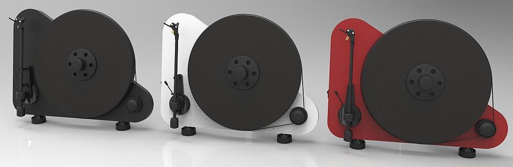Pro-Ject VT-E BT függőleges lemezjátszó színek