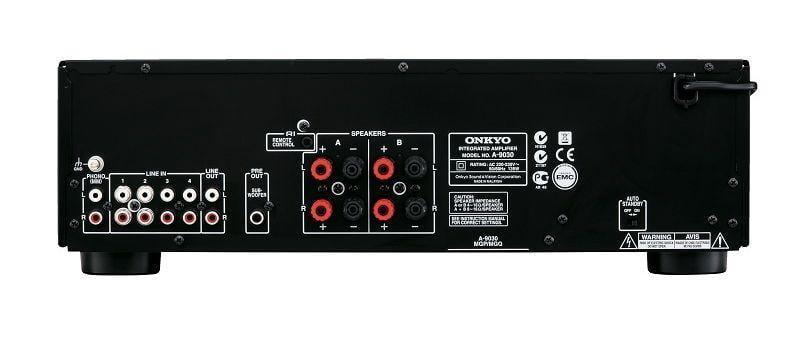 Onkyo-A-9030-sztereó-erősítő-csatlakozó