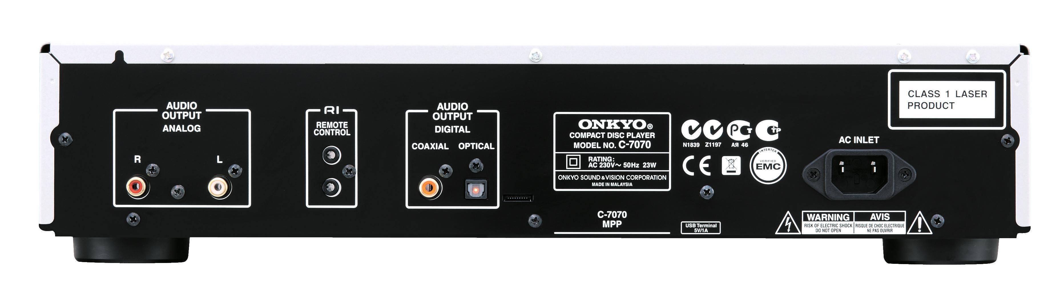 Onkyo C-7070 CD lejátszó csati
