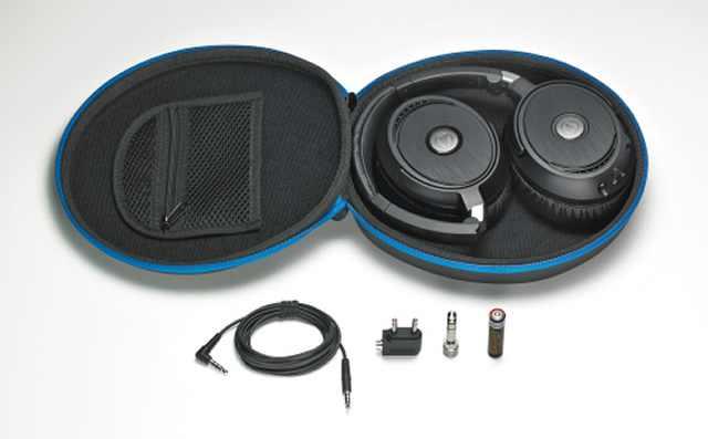 Audio Technica ATH-ANC70 aktív zajkioltó fejhallgató