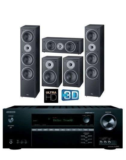83a3a896a6 Onkyo TX-SR373 + Magnat Monitor Supreme 1002 5.0 házimozi rendszer ...