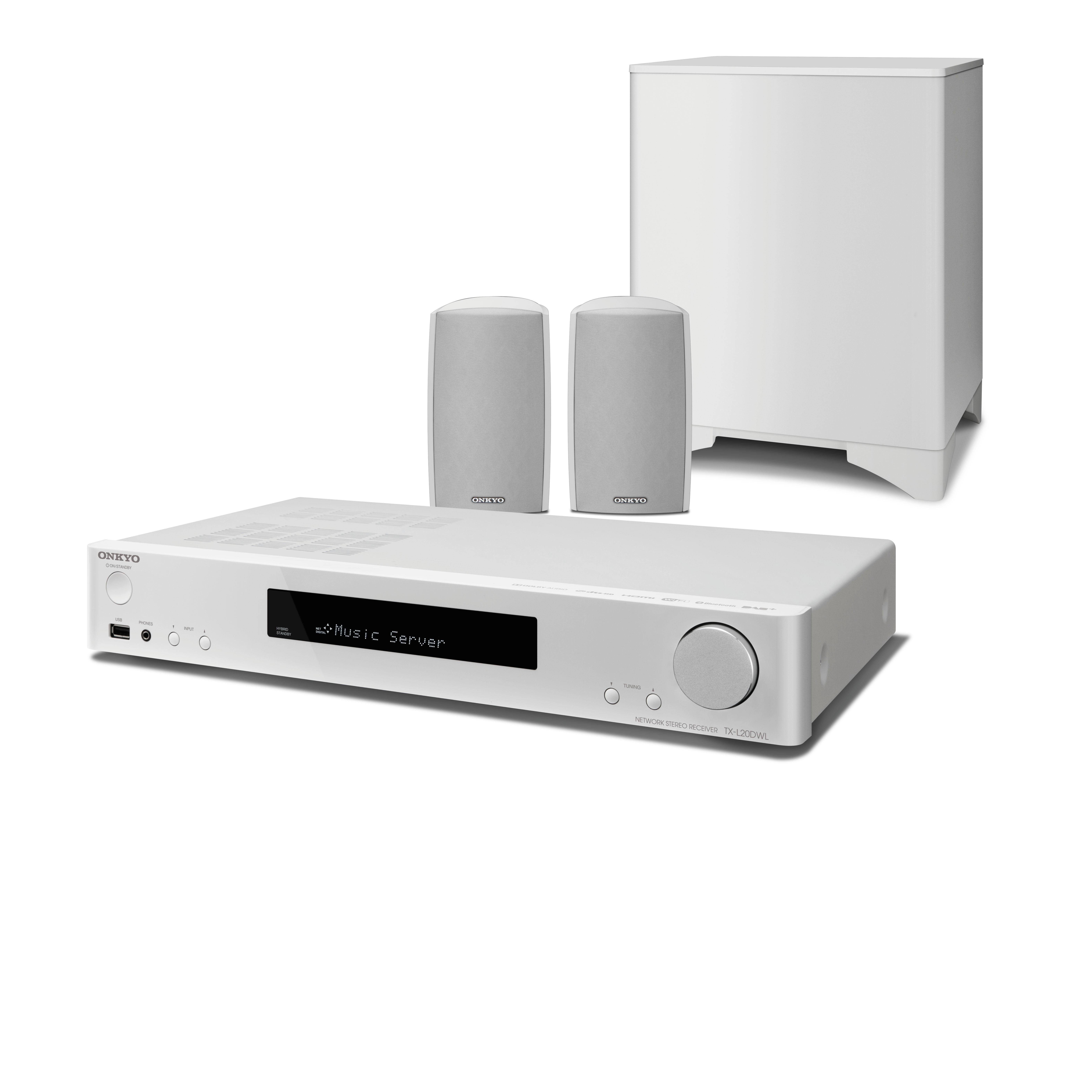 Onkyo LS5200 2.1 házimozi rendszer feher