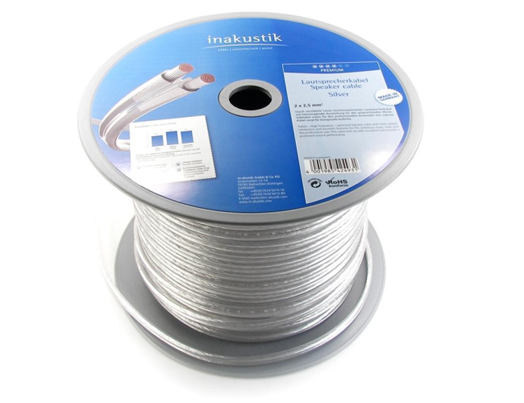 Inakustik Premium Silver 2x1.5 mm ezüstözött hangfalkábel