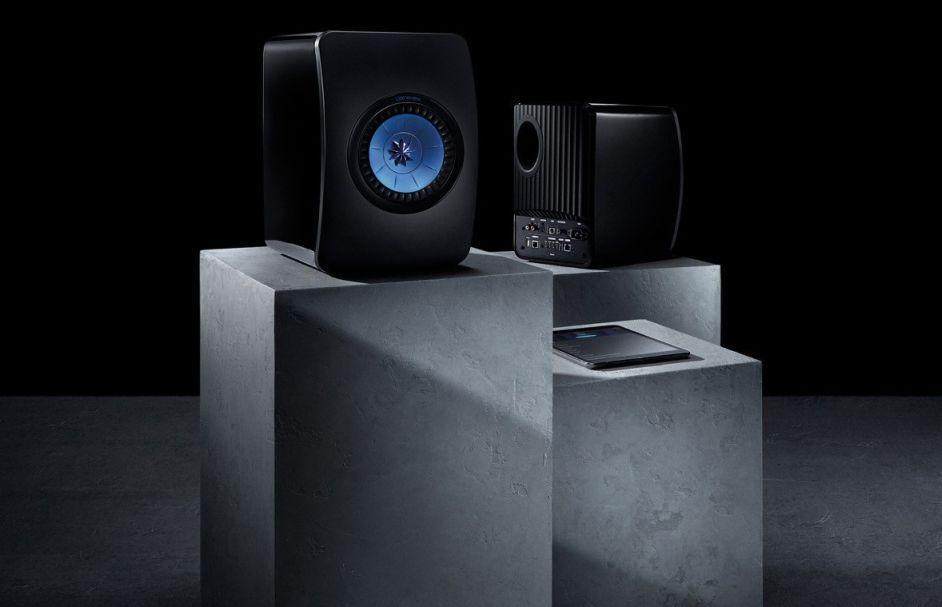 Cyrus One sztereó erősítő + Kef LS50 polc hangfal szett