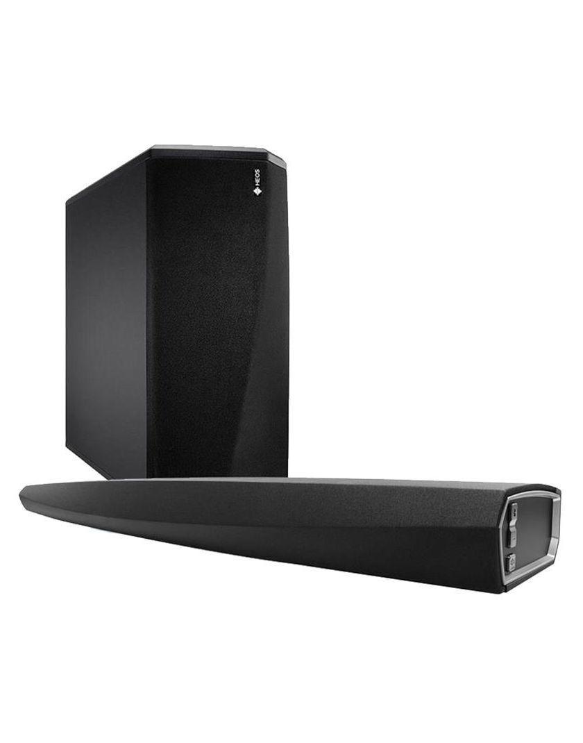 denon heos bar hangprojektor heos subwoofer aktiv m lyl da szett home movie. Black Bedroom Furniture Sets. Home Design Ideas