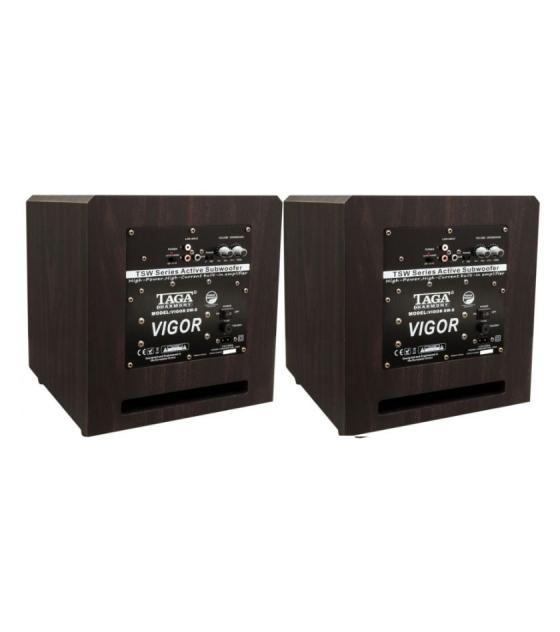 Taga Harmony TSW-90 V.4 aktív mélyláda 2db