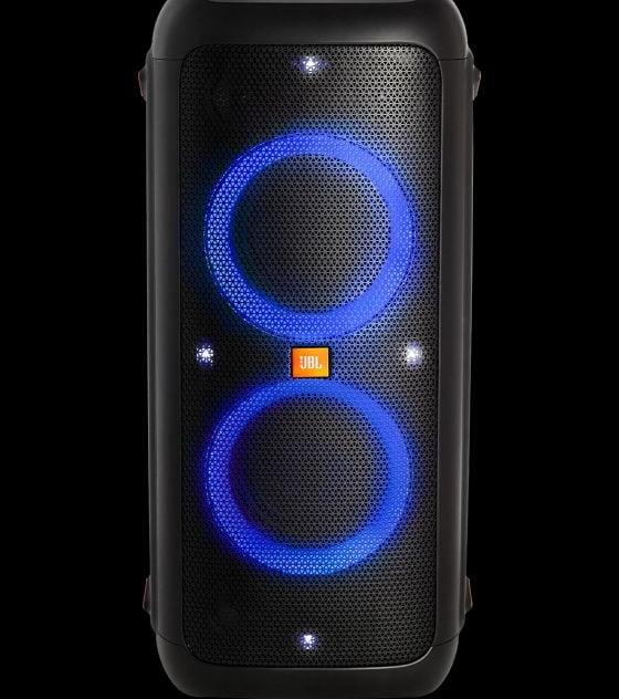 JBL PartyBox 300 hordozhato Bluetooth hangsugárzo kék