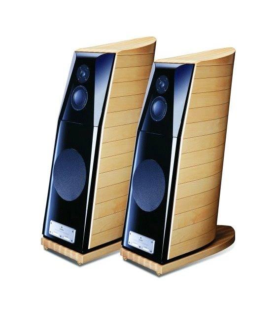 Usher Audio BE-10 High-End állo hangfal juhar
