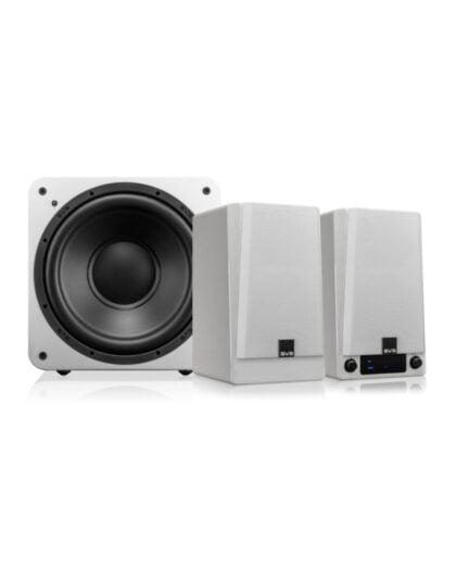SVS Prime vezeték nélküli aktív hangfal + SVS SB-1000 aktív mélyláda szett
