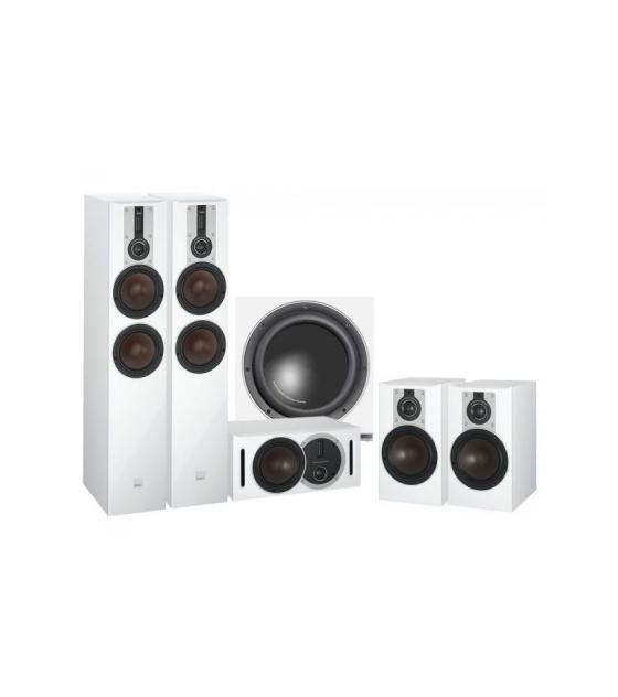 Dali Opticon 6 5.1 házimozi hangfalszett + ajándék Dali Sub E-12F wh
