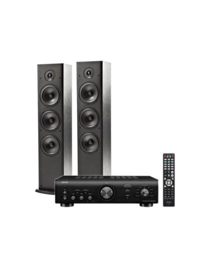 Denon PMA-600NE sztereó erősítő + Polk Audio T-50 hangfal pár